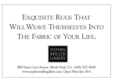"Stephen Miller ""Weave"" small space ad"